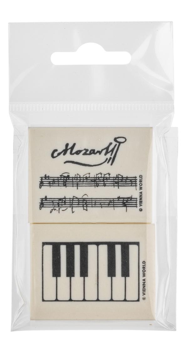 Radiergummiset Mozart 2-tlg