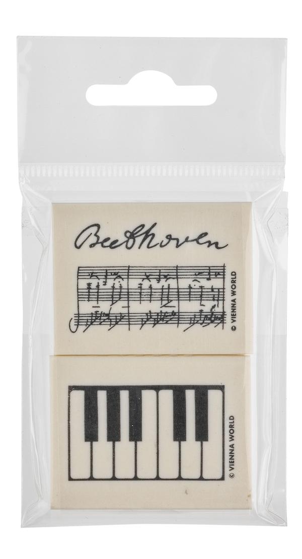 Radiergummiset Beethoven 2-tlg