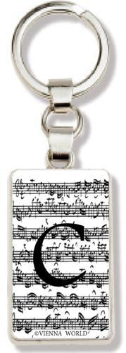 Schlüsselanhänger Buchstabe C