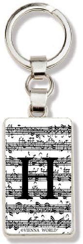 Schlüsselanhänger Buchstabe H