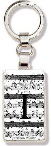 Schlüsselanhänger Buchstabe I