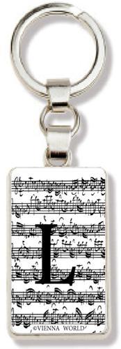 Schlüsselanhänger Buchstabe L