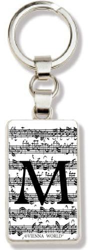Schlüsselanhänger Buchstabe M