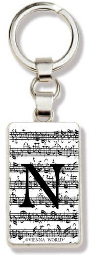 Schlüsselanhänger Buchstabe N