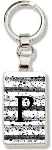 Schlüsselanhänger Buchstabe P