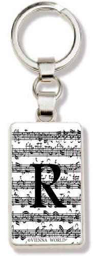 Schlüsselanhänger Buchstabe R