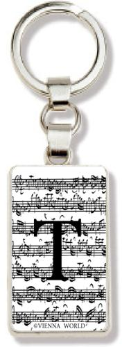 Schlüsselanhänger Buchstabe T