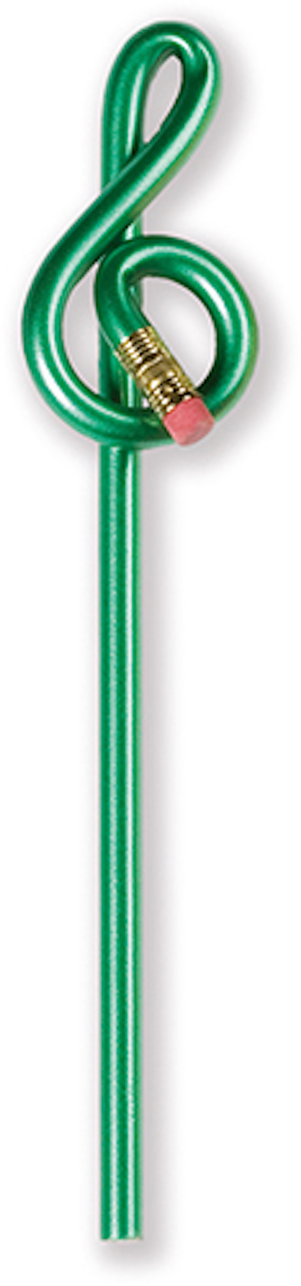 Violinschlüsselbleistift grün