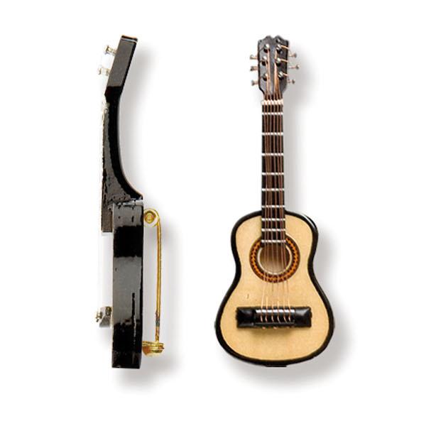 Brosche Gitarre