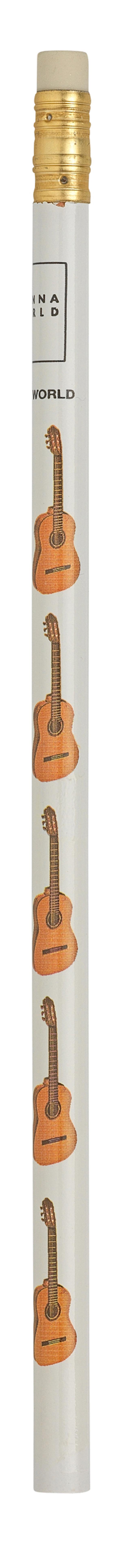 Bleistift Gitarre