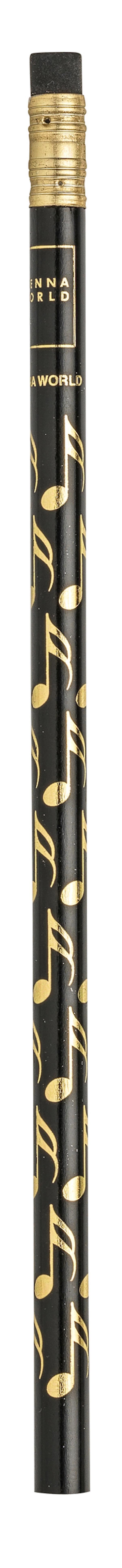 Bleistift Note schwarz