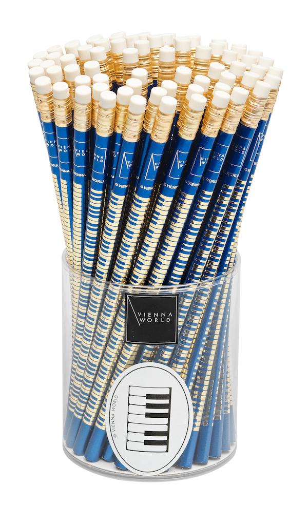 Bleistiftbox Tastatur blau (72 Stk)
