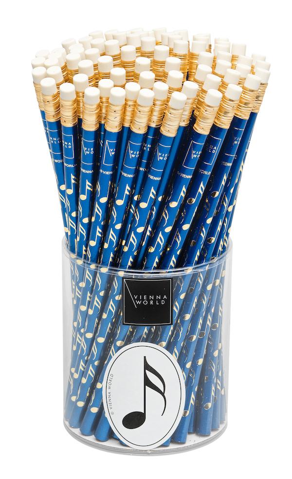 Bleistiftbox Note blau (72 Stk)