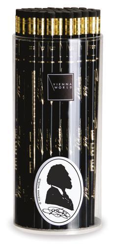 Bleistiftbox Verdi schwarz (72 Stk)