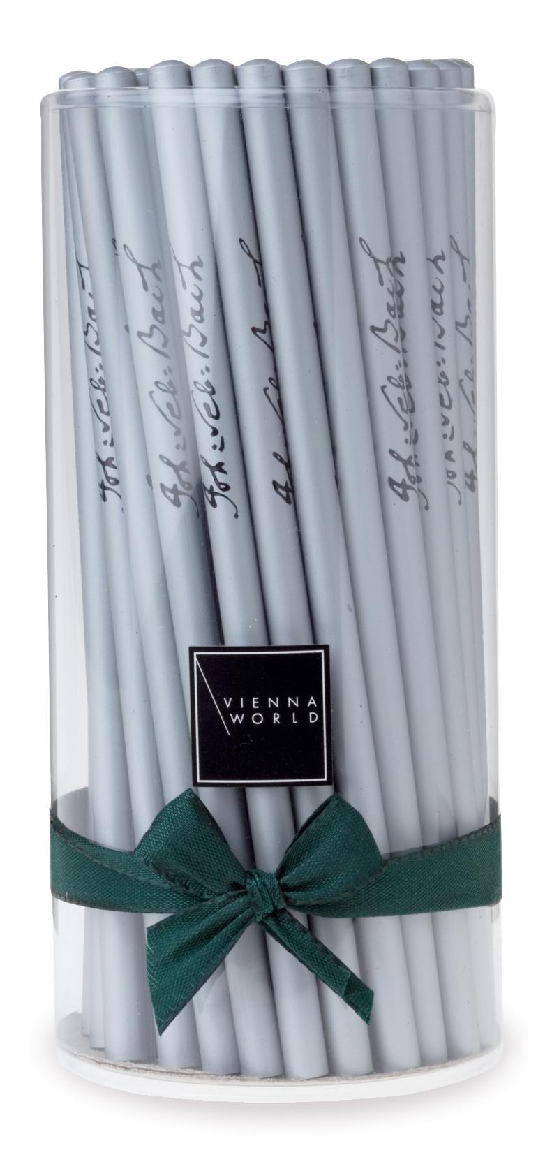 Bleistiftbox Bach silber (72 Stk)