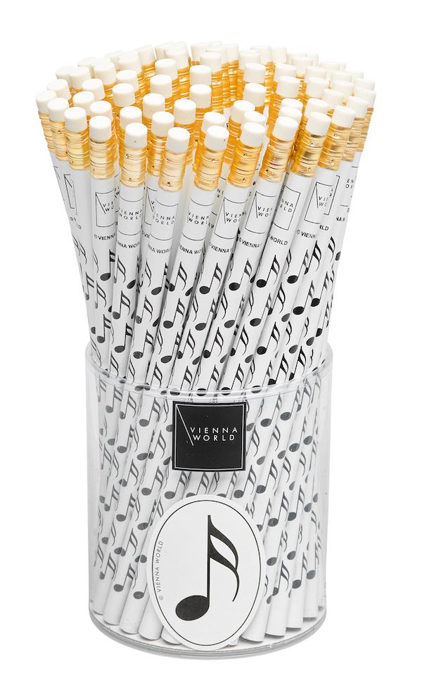 Bleistiftbox Note weiss (72 Stk)