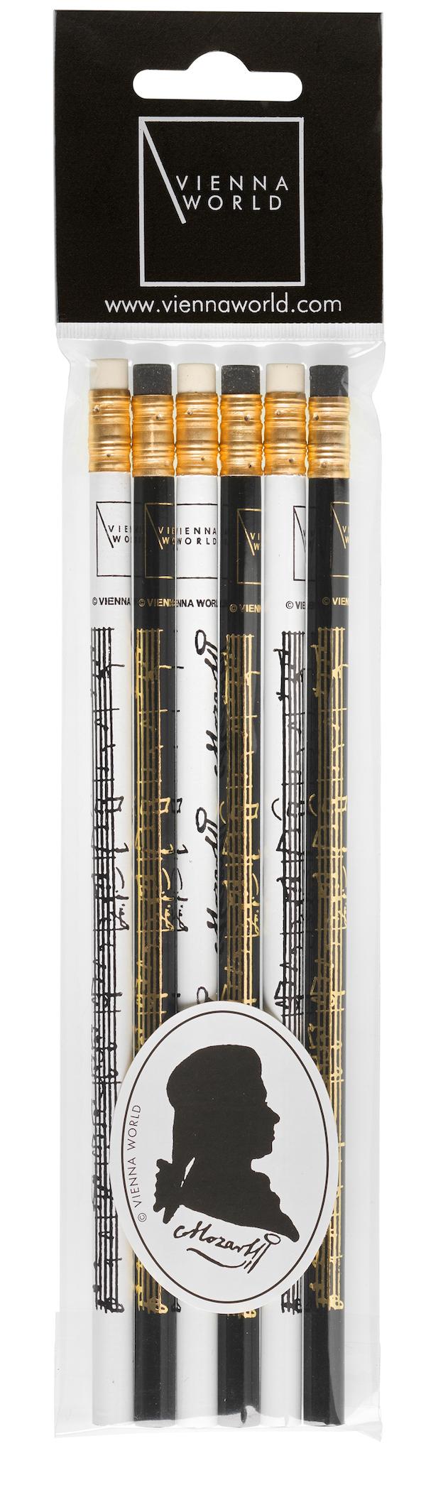 Bleistiftset Mozart (6 Stk)
