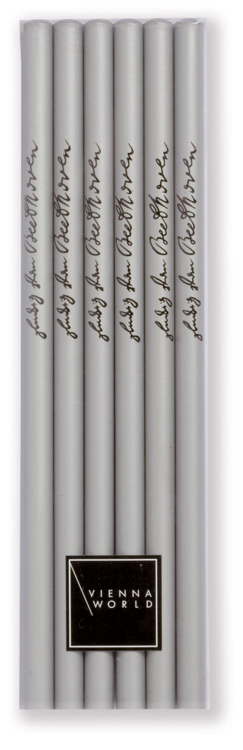 Bleistiftset Beethoven silber (6 Stk)
